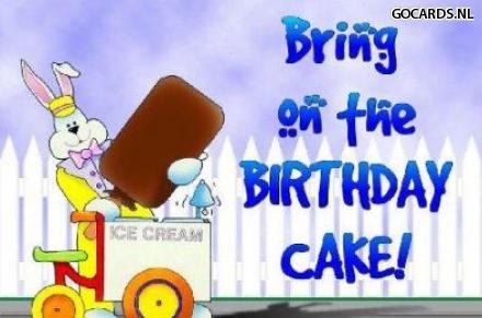 E Cards Op Gocards Nl E Card Verjaardag Birthdaycake