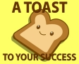 A toast to your success